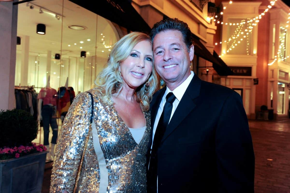 PHOTO: RHOC Star Vicki Gunvalson and Boyfriend Steve Lodge are Engaged, See a Pic of Her Engagement Ring!