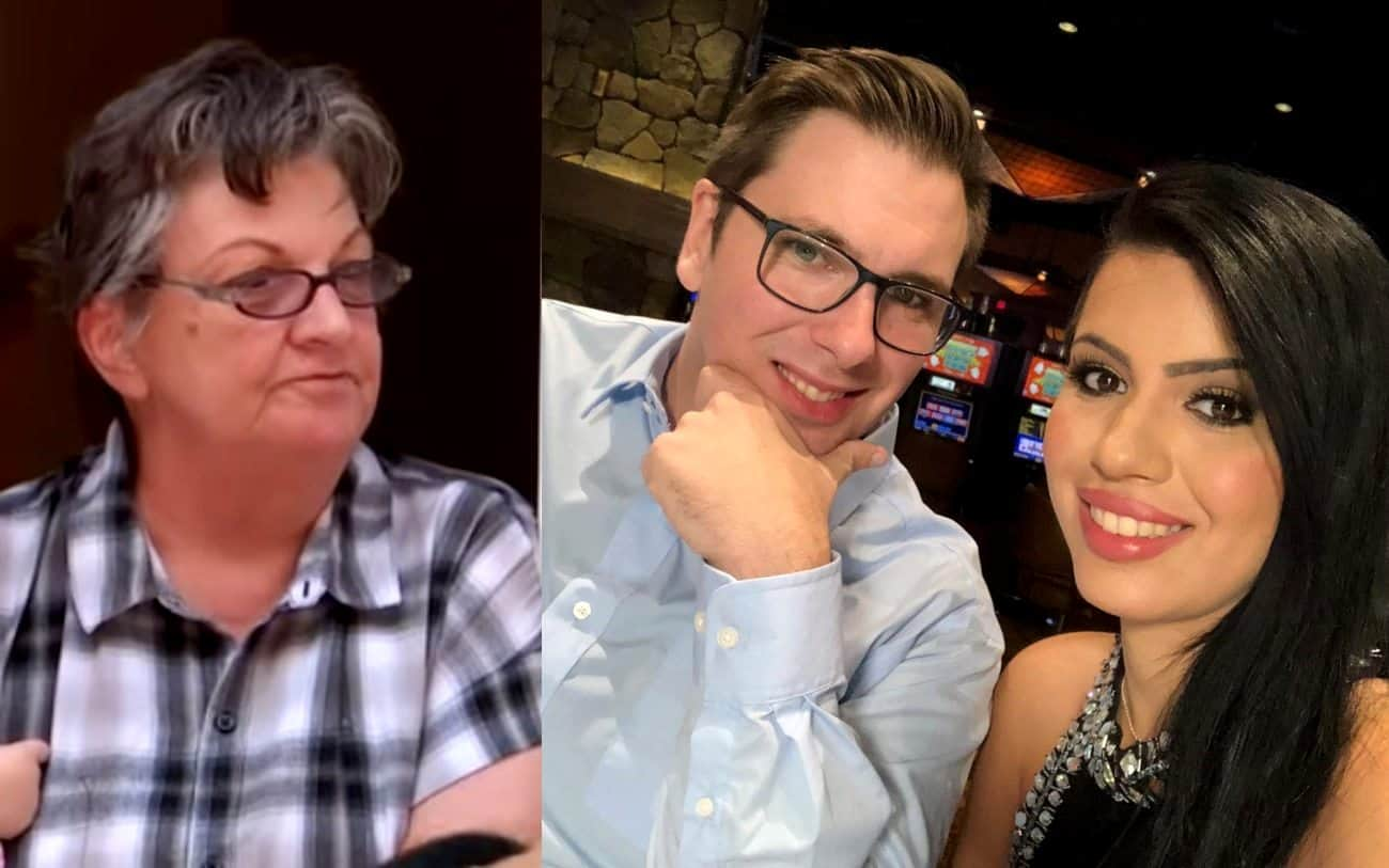 90 Day Fiance Star Debbie Johnson Says Larissa Will Be Deported in a Few Weeks, See Larissa's Response