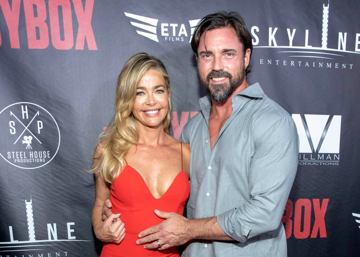 "REPORT: Denise Richards' Husband Aaron Phypers ""Sick"" and ""Embarrassed"" by Brandi Affair Rumors, Are ""Secrets and Lies"" Destroying RHOBH Couple's Marriage?"