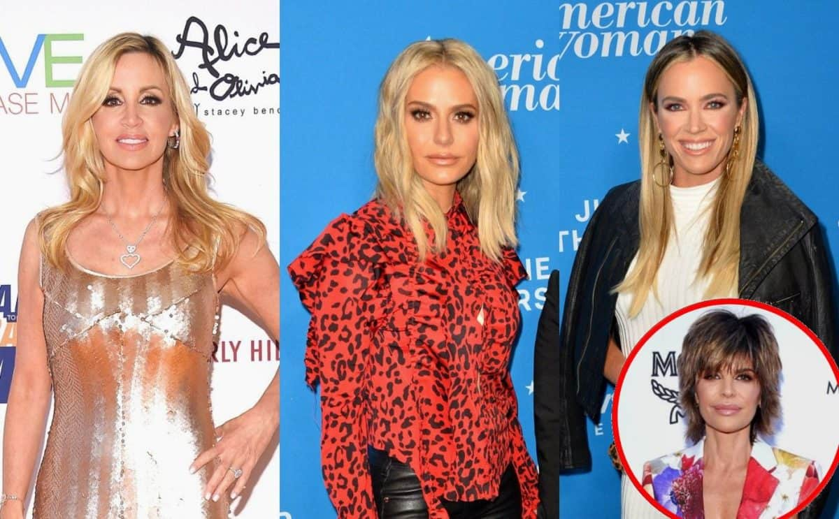 RHOBH Star Camille Grammer Shades Dorit Kemsley and Teddi Mellencamp's Finances! Plus Lisa Rinna Admits Future on RHOBH is Uncertain Amid Firing Rumors
