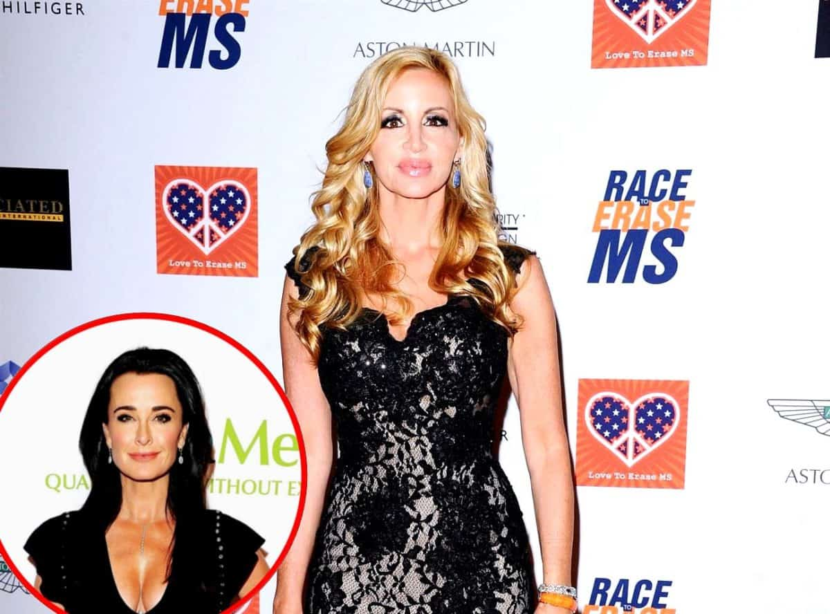 Is Camille Grammer Skipping the RHOBH Reunion? Plus She Slams Kyle Richards as 'Creepy' and Says She's the 'New Target'