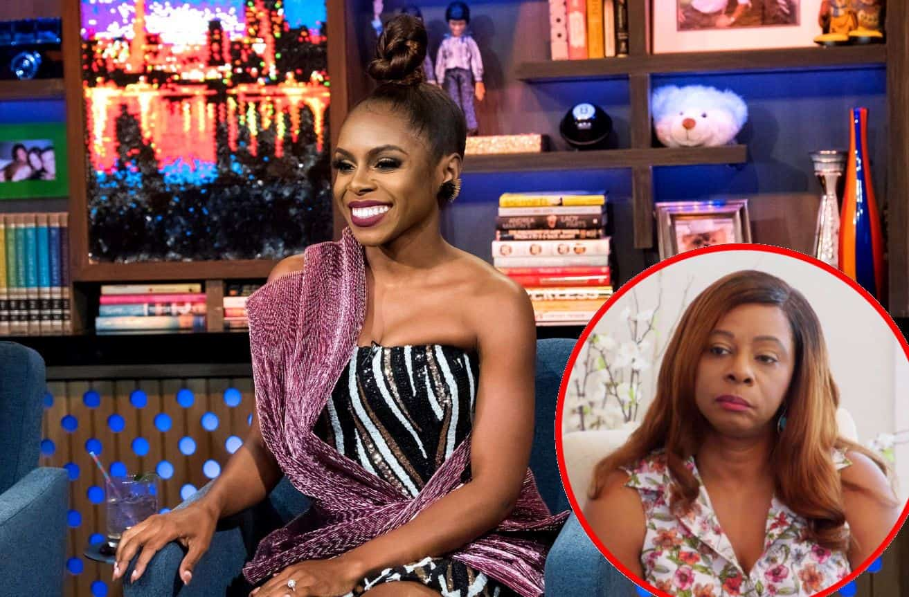 'RHOP' Candiace Dillard's Mom Dorothy Addresses Backlash Over Upset Reaction to Candiace Inviting Half-Brother to Wedding