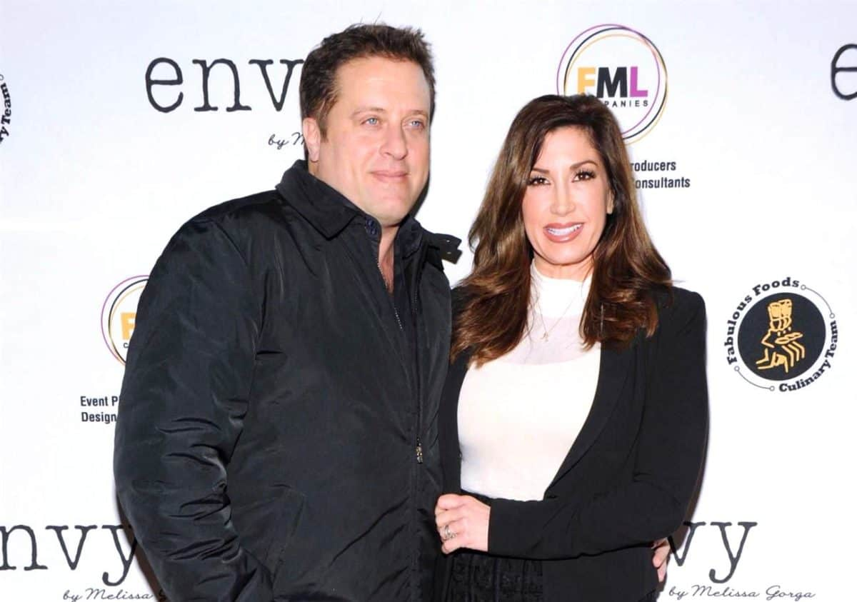 Ex RHONJ Star Jacqueline Laurita and Husband Chris Sell Belongings on Facebook as They Face Foreclosure, Plus Chris Speaks Out