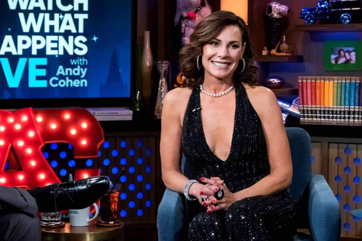 RHONY's LuAnn De Lesseps Admits She's Around 'A Lot Of Alcohol' During Filming