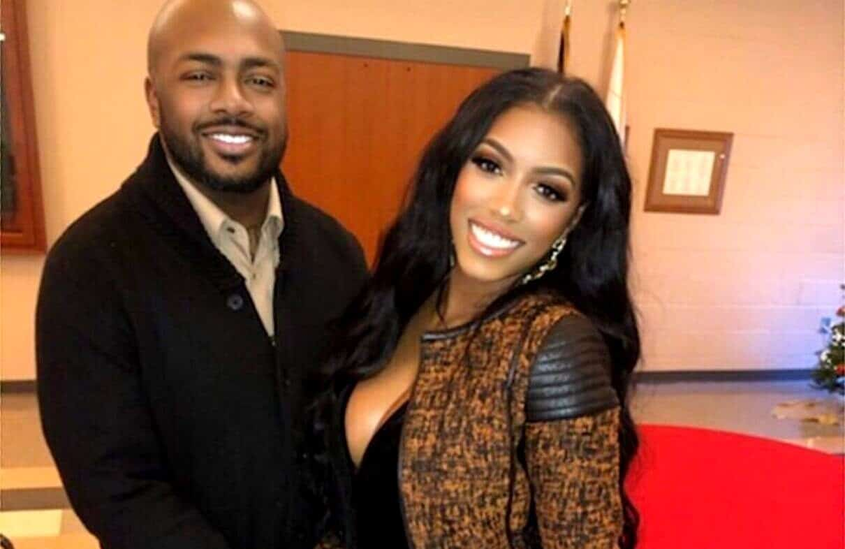 PHOTOS: Porsha Williams and Dennis McKinley Cuddle in Holiday Pictures, Are RHOA Exes Giving Their Love Another Shot?