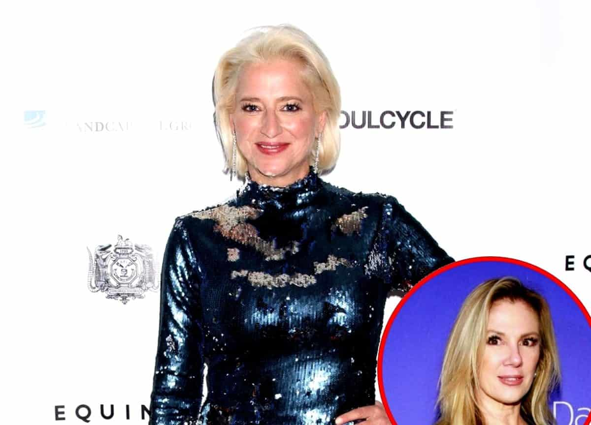 RHONY Star Dorinda Medley Tried To Save Ramona Singer During Charity Speech
