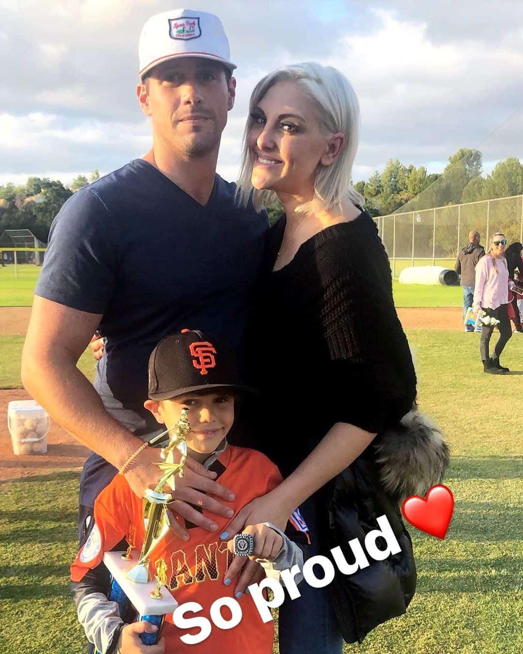 Gina Kirschenheiter and Matt Kirschenheiter with son