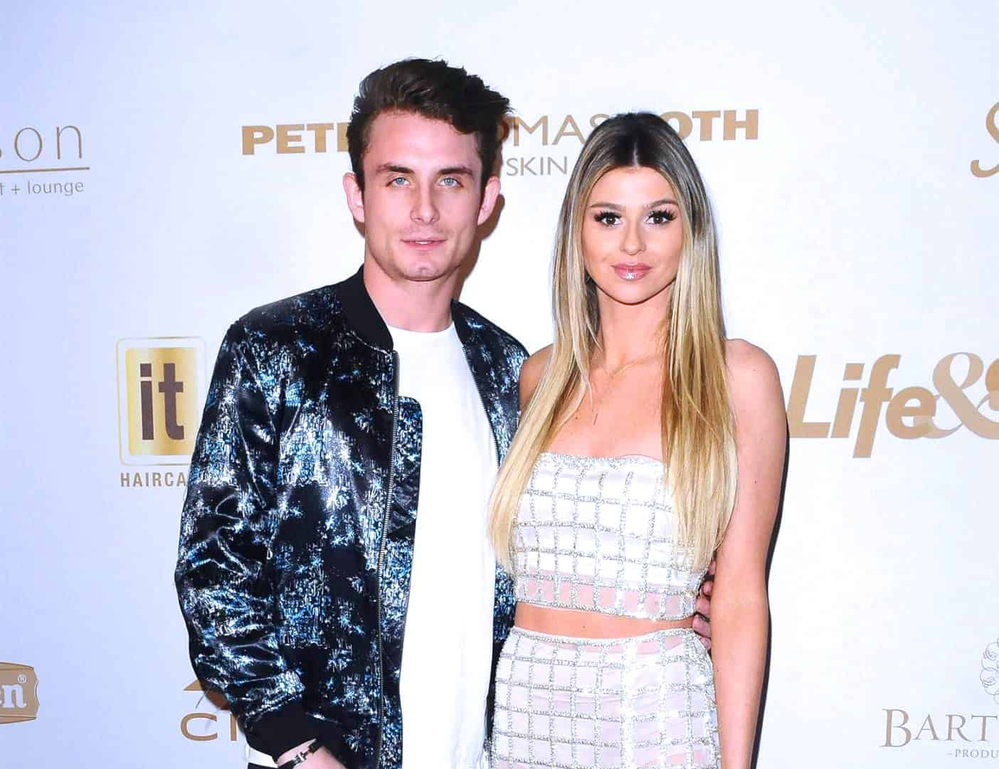 PHOTO: James Kennedy Gets Engaged to Raquel Leviss! Details of the Vanderpump Rules Star's Proposal Revealed Plus Raquel's Engagement Ring