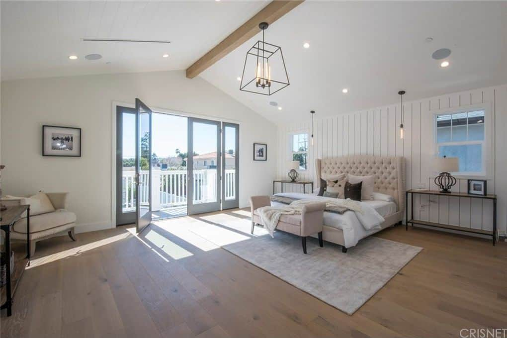 Vanderpump Rules Jax Taylor and Brittany Cartwright New Home Master Bedroom