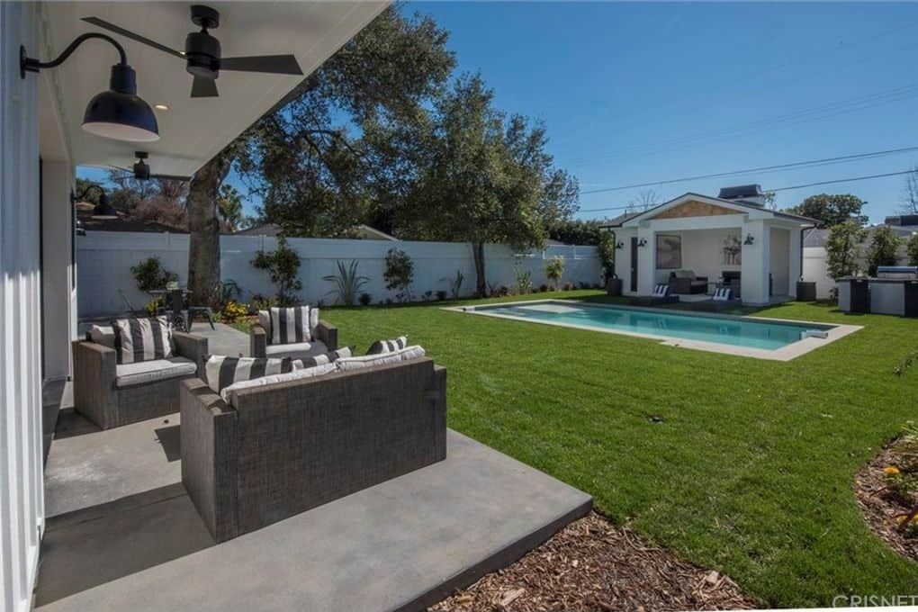 Vanderpump Rules Jax Taylor and Brittany Cartwright New Home Pool House