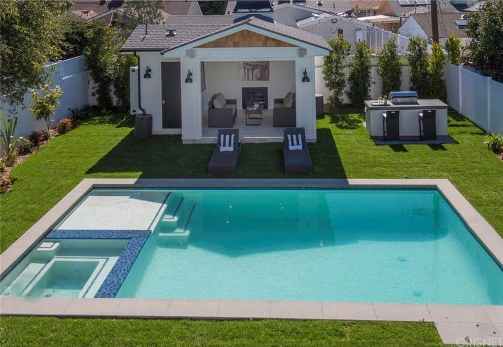 Vanderpump Rules Jax Taylor and Brittany Cartwright New Home Swimming Pool