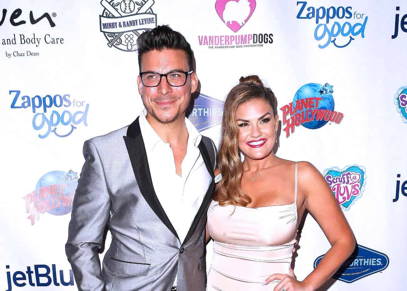 "Vanderpump Rules' Jax Taylor and Brittany Cartwright Reveal Their Due Date and Tease Gender Reveal as Brittany Fights Morning Sickness and Jax Says He's ""Excited"" to Be a Dad"