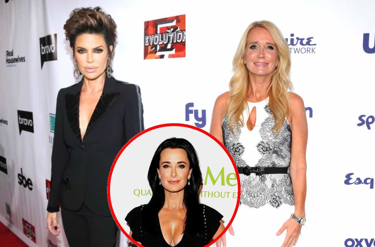 RHOBH's Lisa Rinna Explains What Sparked Her 'Cu**ty' Comment Towards Kim Richards as Kyle Richards Addresses the 'Jab'
