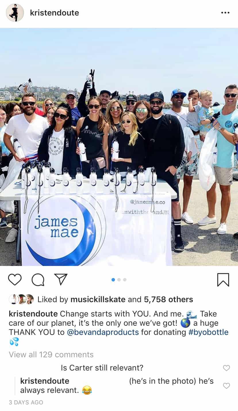 Vanderpump Rules Kristen Doute Hangs With Brian Carter After Split