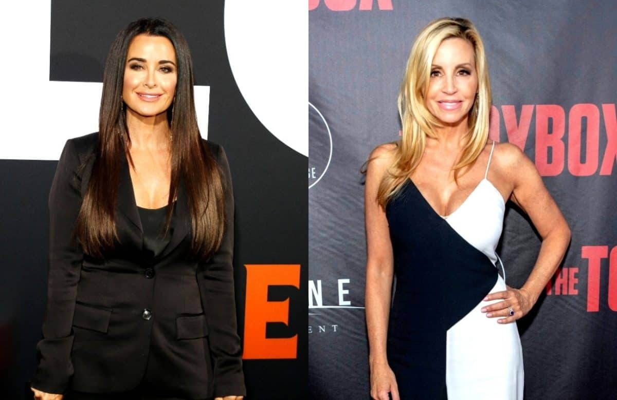 RHOBH's Kyle Richards Responds to Camille Grammer's 'Creepy' Diss and Labels Her a 'People Pleaser,'