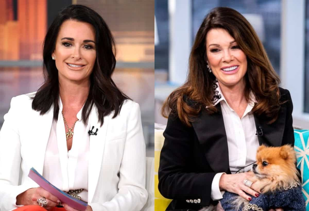 Here's Why Kyle Richards is Reportedly Confident She and Lisa Vanderpump Will Make Amends, Plus Does She Believe Lisa Will Return to the RHOBH?