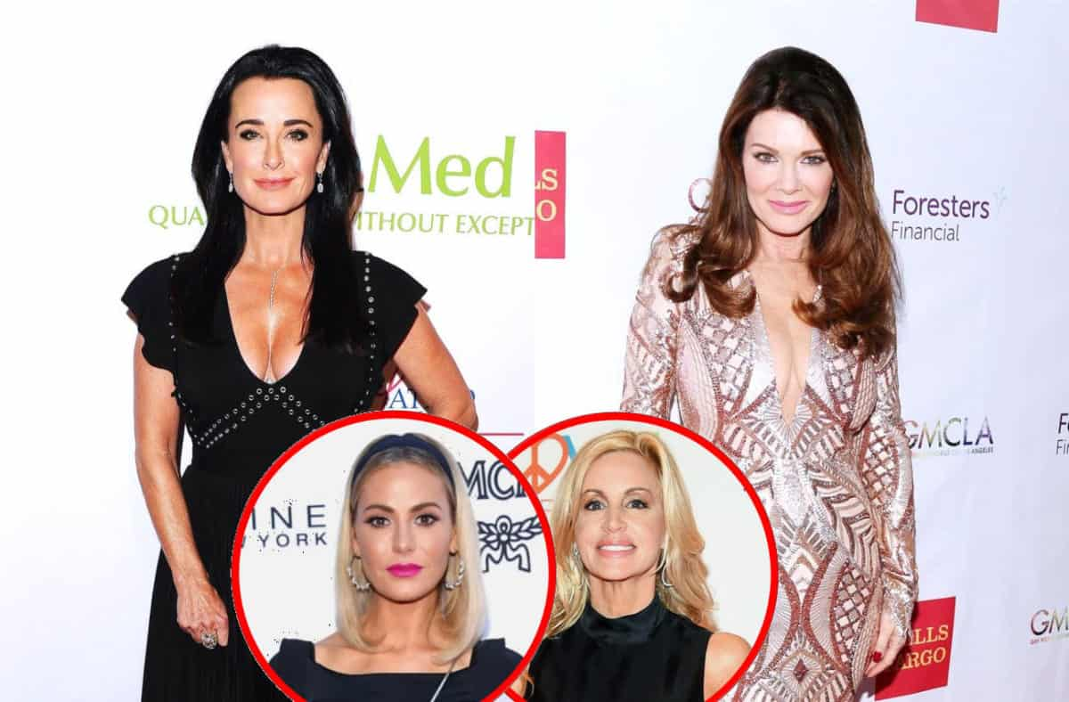 RHOBH's Kyle Richards Slams Lisa Vanderpump as 'MEAN' Over Dorit Kemsley Diss, Plus Does Camille Believe Lisa Leaked the Dog Story?