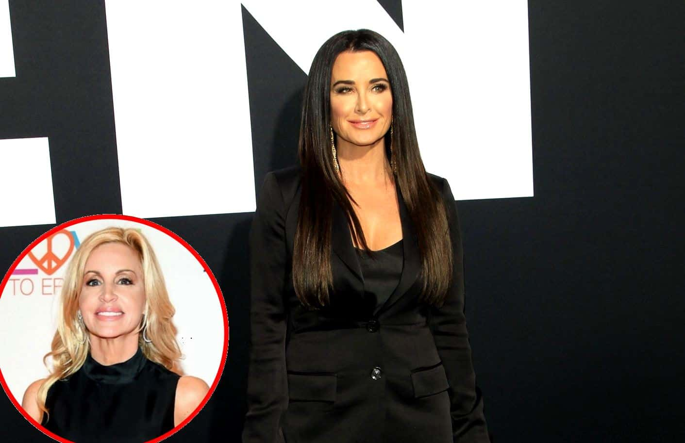 "Kyle Richards Reveals RHOBH Reunion Will Be 'Bad For the Cast,' Compares Camille Grammer to ""Season 1 Camille"" and Teases 'Problems' With Co-Stars"