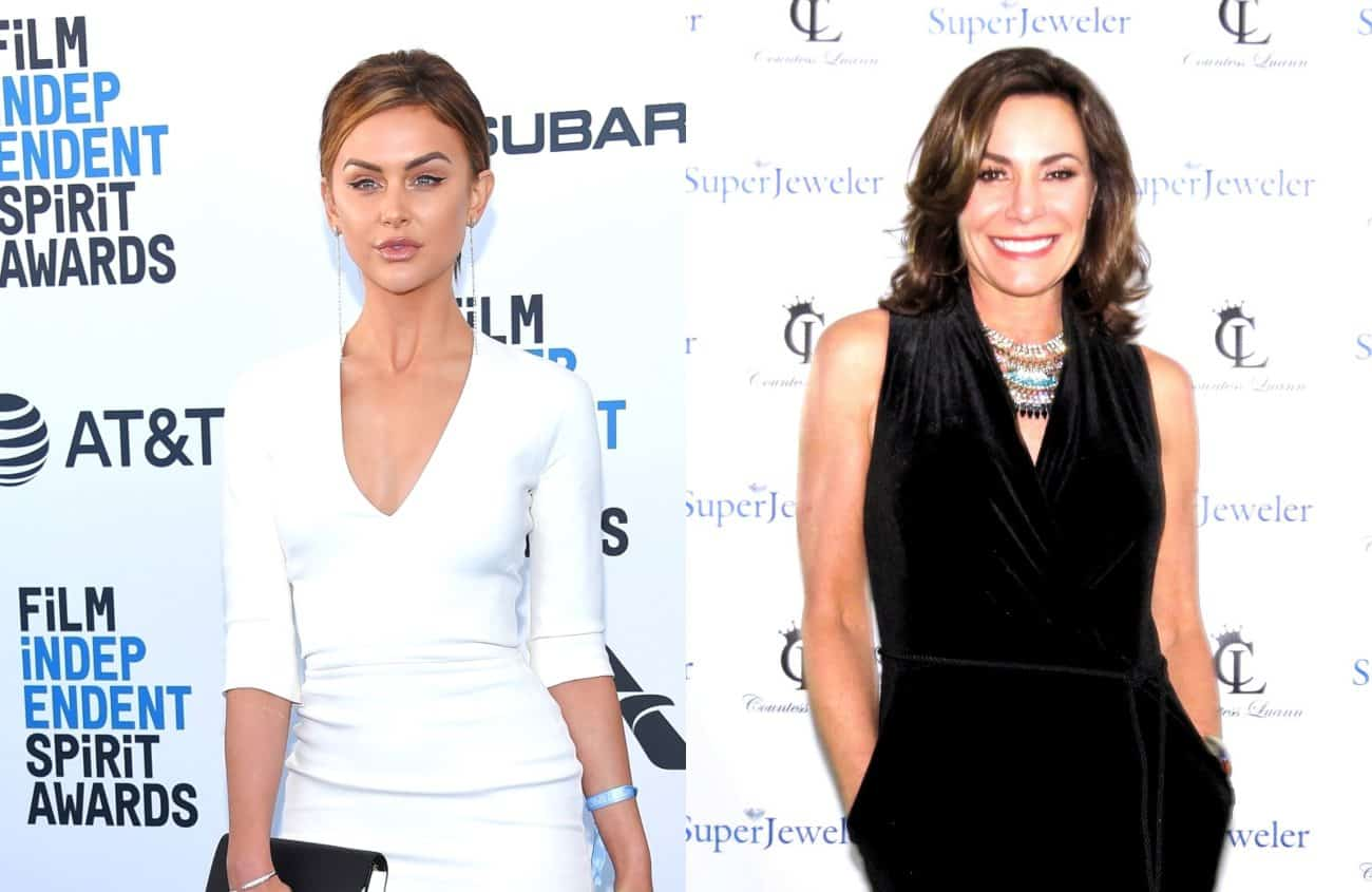 Vanderpump Rules' Lala Kent Reacts to LuAnn De Lesseps' Sobriety Struggles Following RHONY Star's Probation Violation