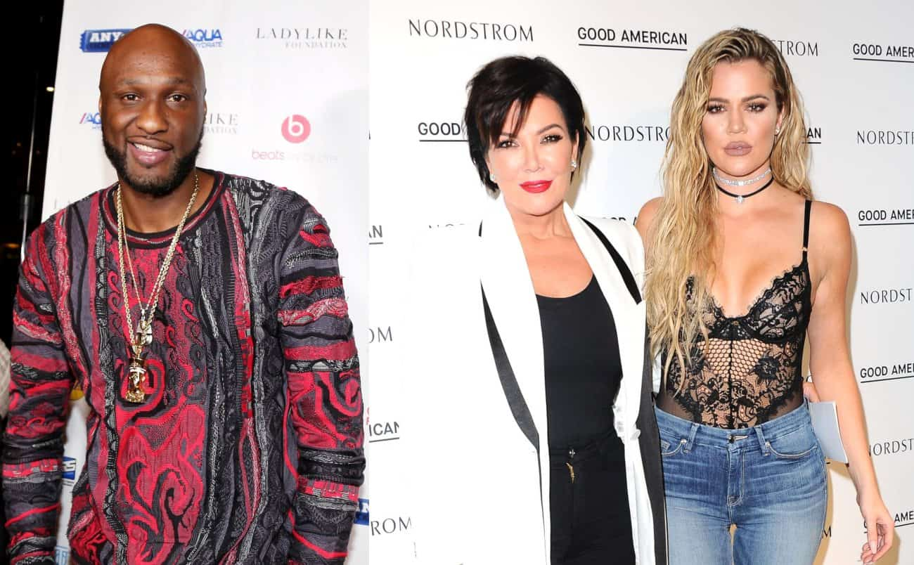 Lamar Odom Accuses Kris Jenner of Setting Him Up, Reveals How Khloe Kardashian Caught Him Cheating and Beat Up Stripper