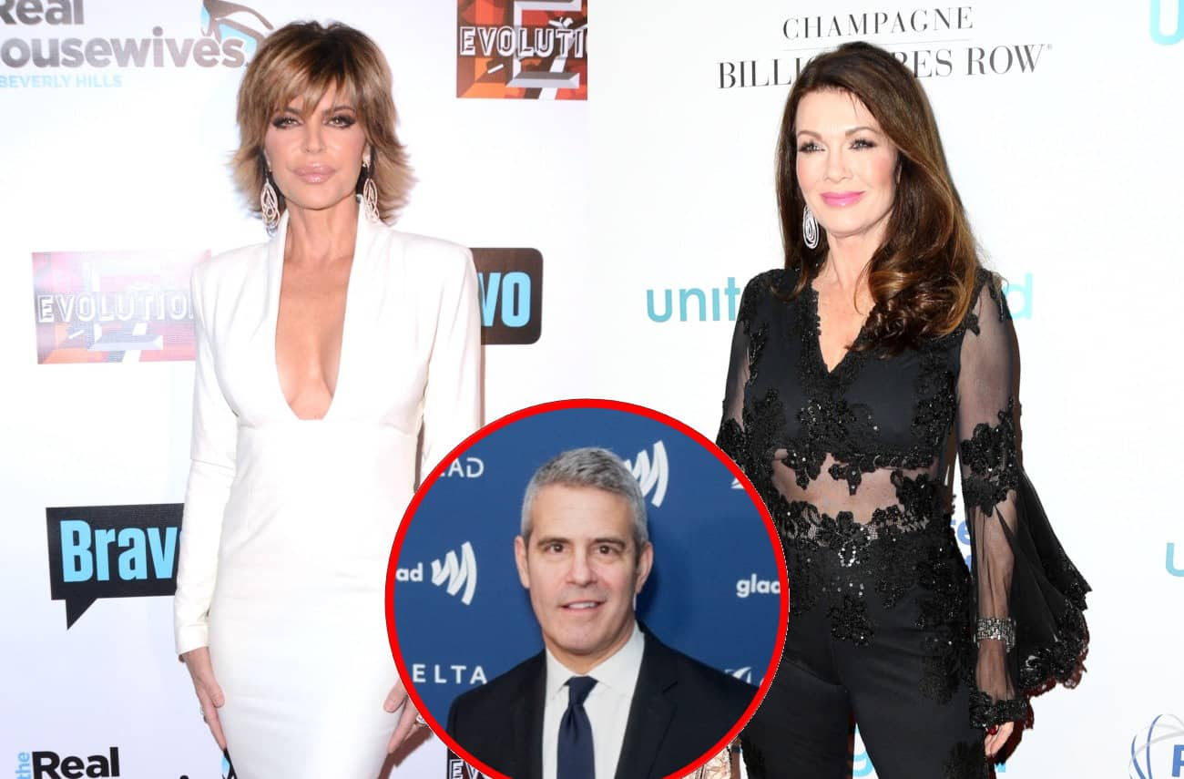 Lisa Rinna Implies Lisa Vanderpump is a 'Liar' and a 'Narcissist,' and Andy Cohen Shares His Thoughts on Lisa Attending the Reunion Plus RHOBH Live Viewing Thread!