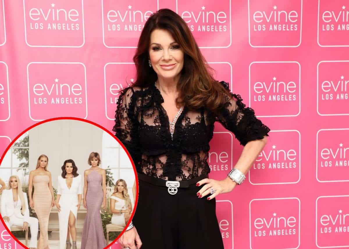"Lisa Vanderpump Reveals Her Scenes Were Cut From the RHOBH, Plus Why Her Co-Stars Are ""Anxious"" About the Reunion"