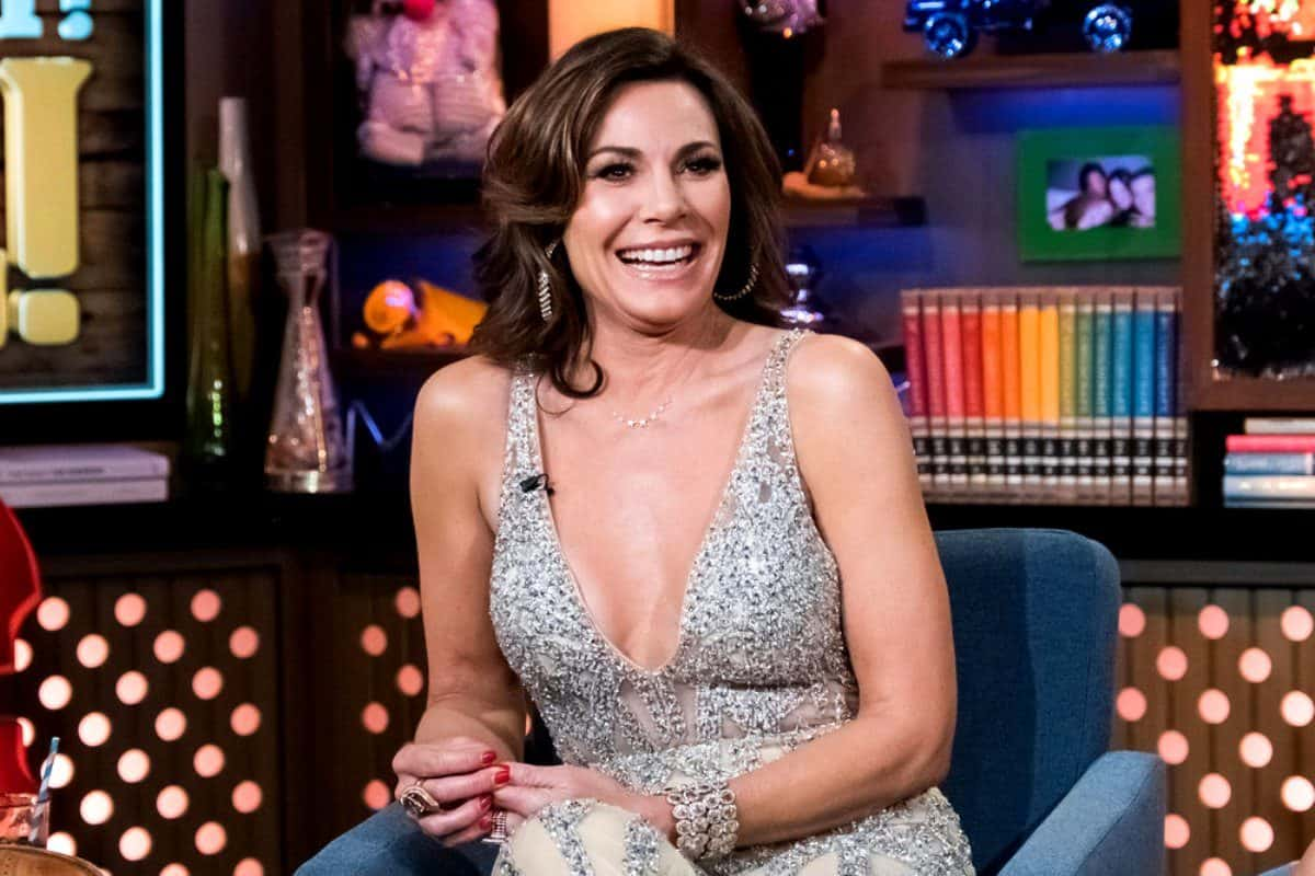 PHOTO: RHONY Star Luann de Lesseps Poses Nude in a Pool and Gets Criticized by Fans