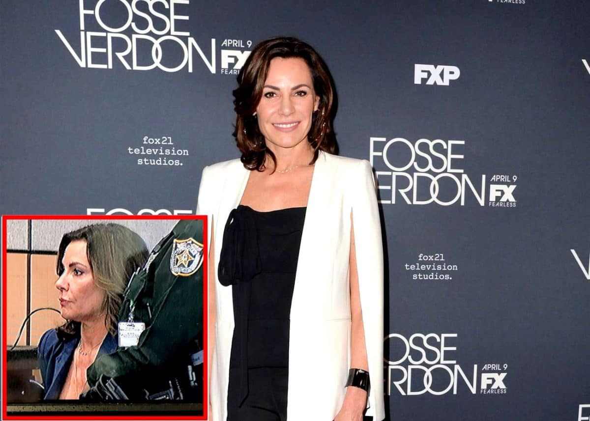 PHOTO: RHONY Star Luann de Lesseps Sent to Jail by Judge After Violating Her Probation