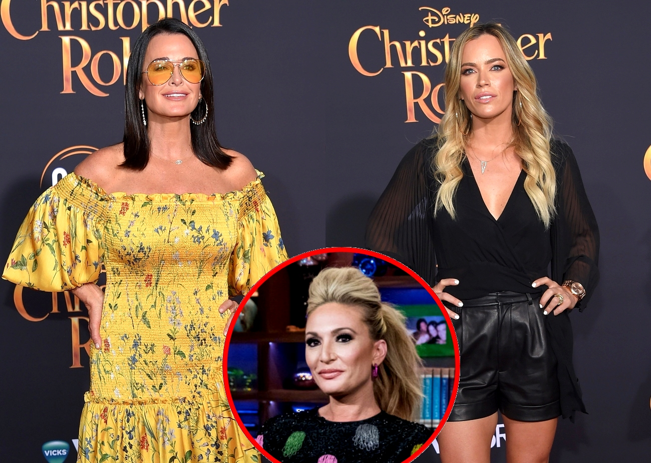 RHOBH's Kyle Richards And Teddi Mellencamp Clap Back At Kate Chastain For Mom-Shaming Tweet