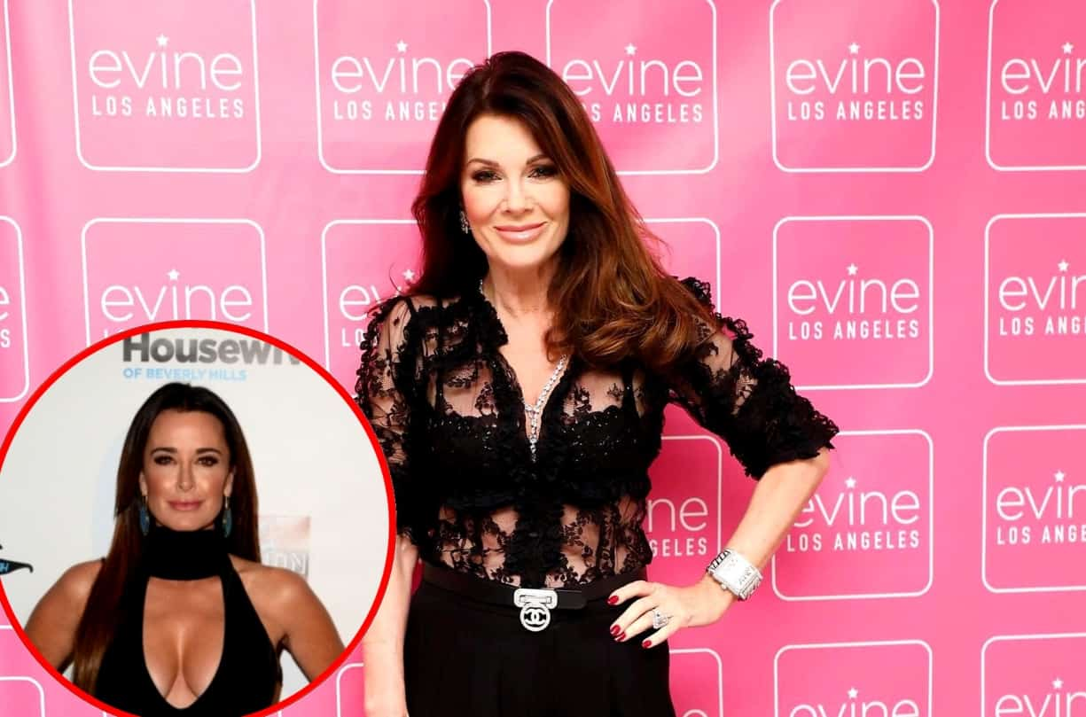 RHOBH's Lisa Vanderpump Confirms Recent Run-In With Kyle Richards