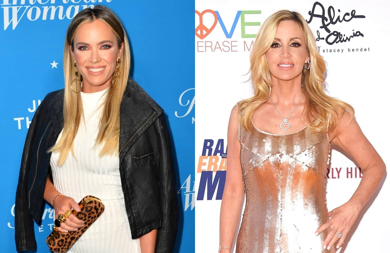 RHOBH's Teddi Mellencamp Claps Back at Camille Grammer's 'Entitlement' Diss by Mentioning Her Divorce Settlement and Slamming Her as a Hypocrite