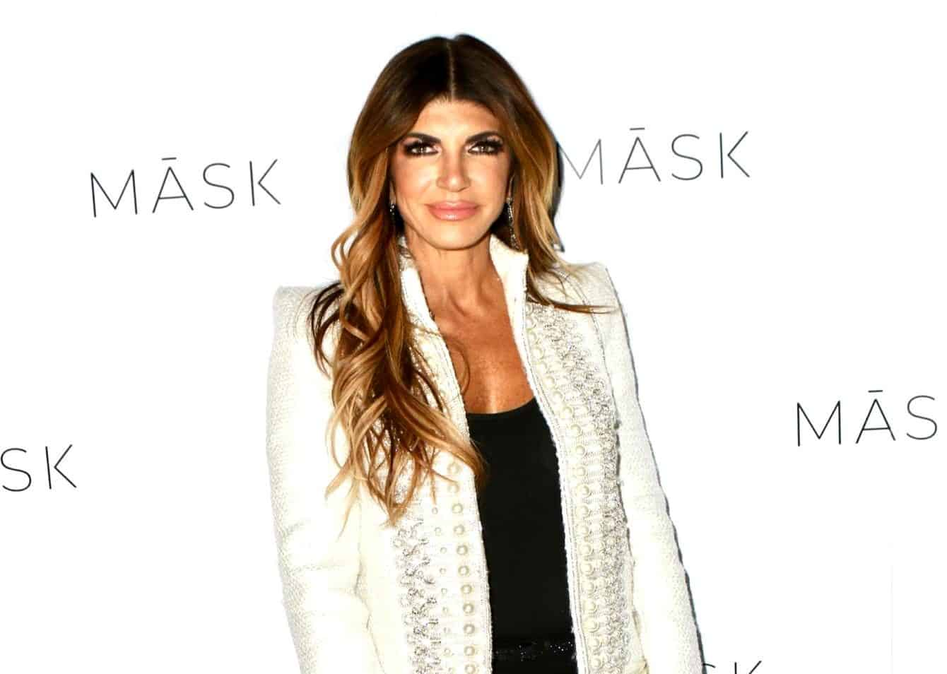 PHOTOS: Teresa Giudice Accused of Wearing Fake Designer Clothing, See RHONJ Star's Sporting Potential Dupes of Balenciaga, Chanel, Fendi, and Louis Vuitton