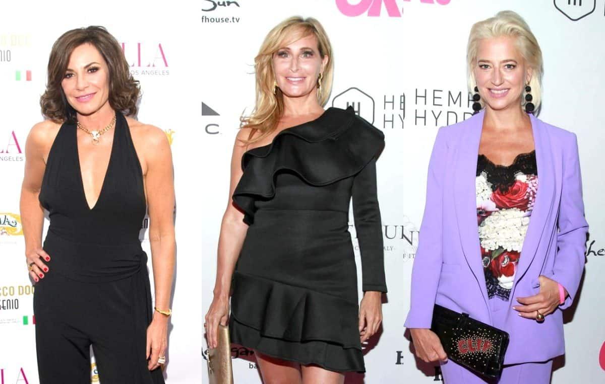 RHONY's LuAnn De Lesseps Teases 'Detox Moment' At Reunion