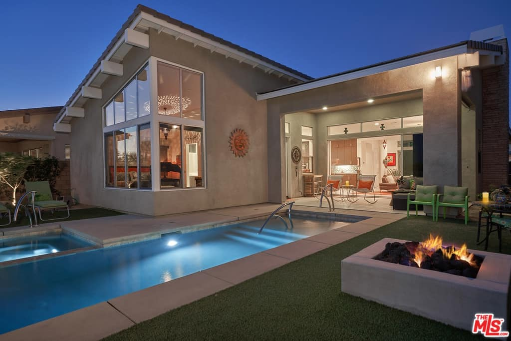 Scheana Marie Home Pool Backyard
