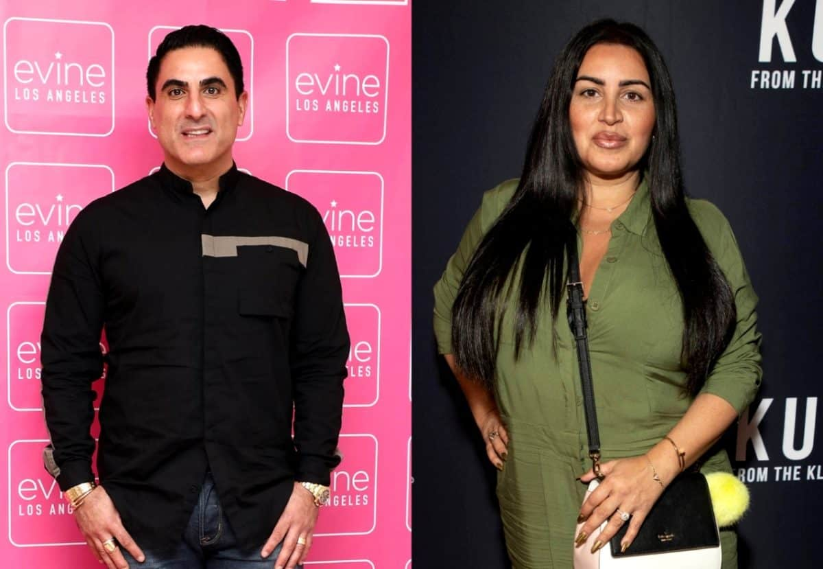 Shahs Of Sunset's Reza Farahan Leaks Text Messages From Mercedes 'MJ' Javid