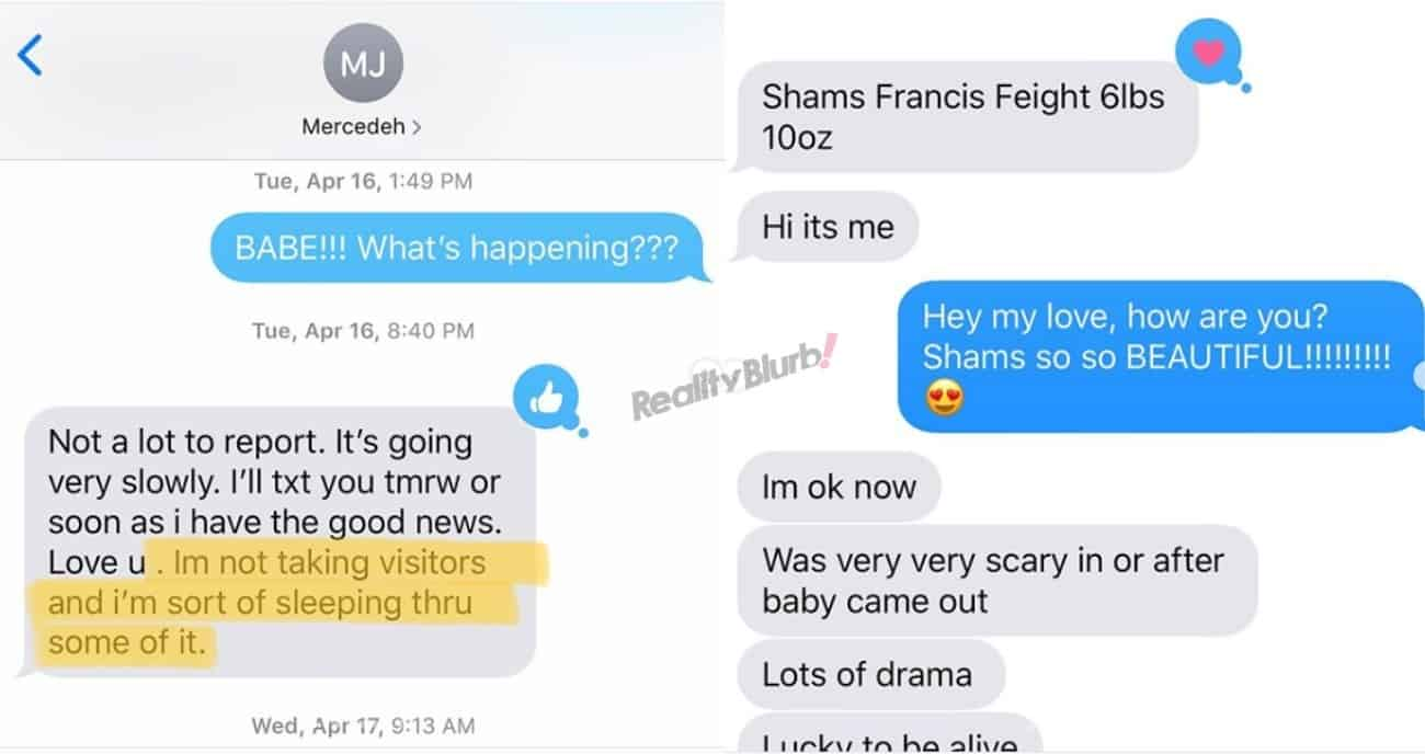 Shahs of Sunset Reza Leaks MJ's Text Messages