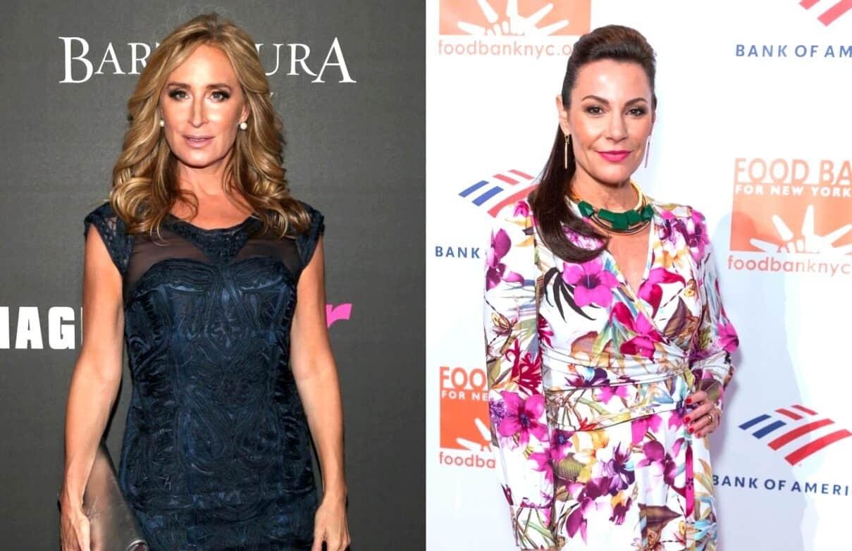 RHONY Star Sonja Morgan Talks Drunken Night In Miami, Plus She Addresses Luann de Lesseps' Pill Comments