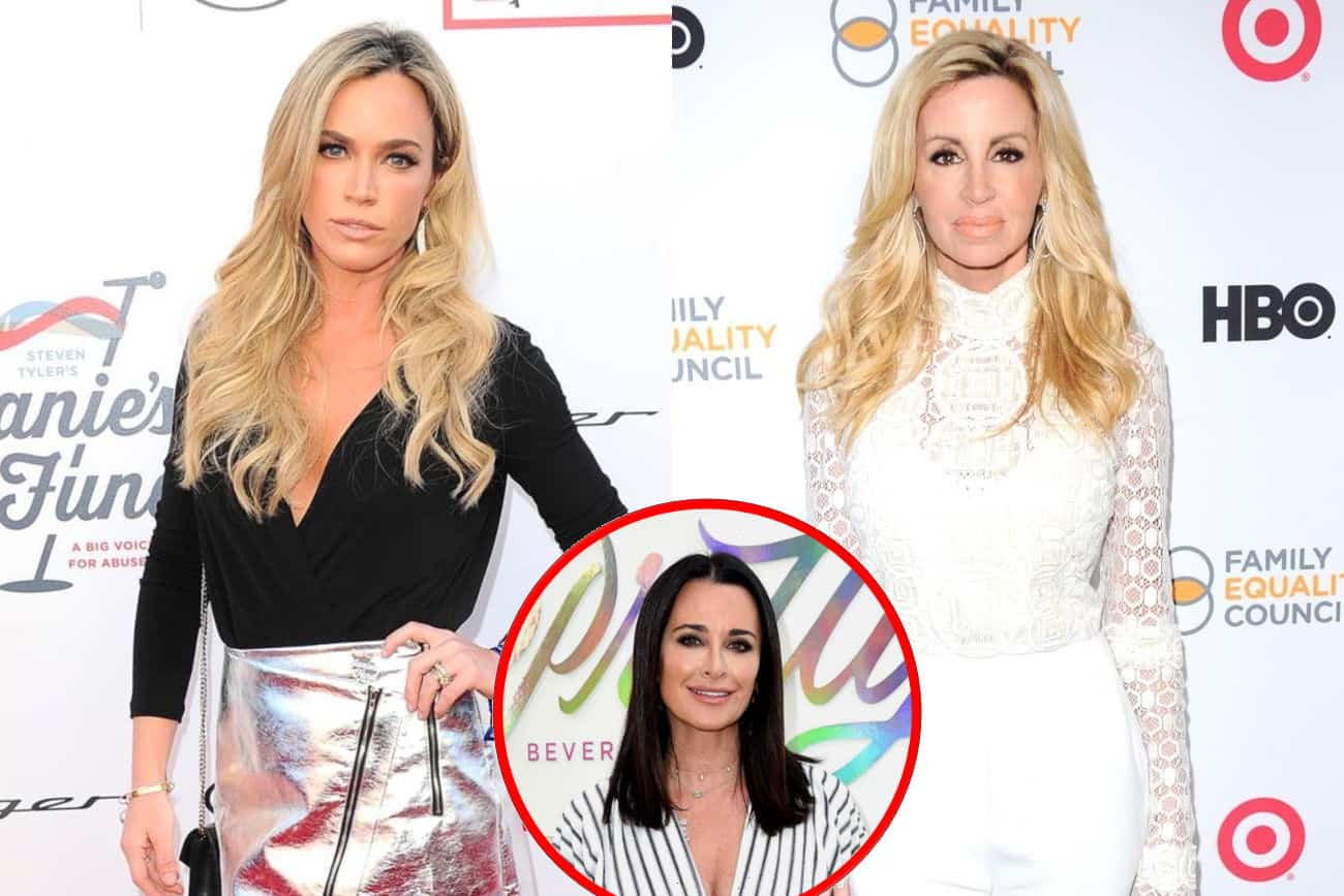 RHOBH Stars Teddi Mellencamp and Camille Grammer Get Into Twitter Feud After Teddi Disses Camille, Plus Kyle Chimes In!