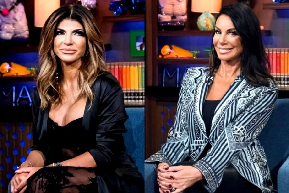 "REPORT: RHONJ Cast Accuse Danielle Staub of ""Brainwashing"" Teresa Giudice, Friendship Causing Tension Amid Filming"