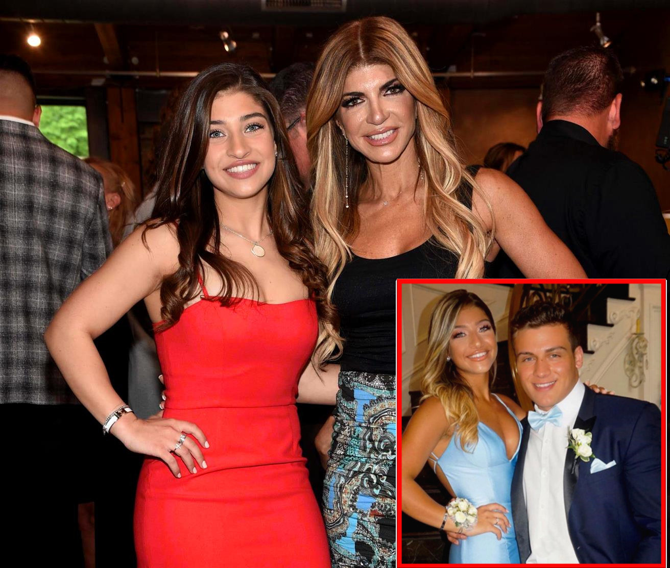PHOTOS: RHONJ Star Gia Giudice Attends Prom With Frank Catania Jr. as Teresa Throws Prom Soiree! Plus Find Out Which College She's Attending!