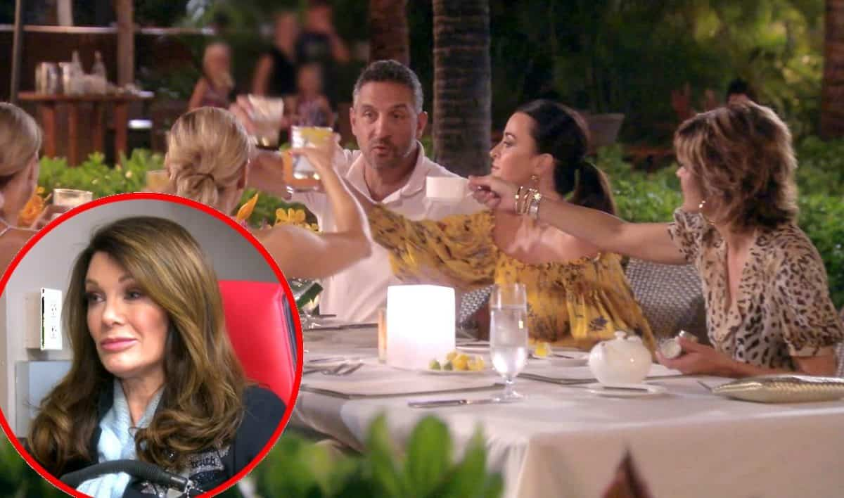 The Real Housewives of Beverly Hills Recap: Lisa Passes Her Lie Detector Test But Castmates Remain Skeptical