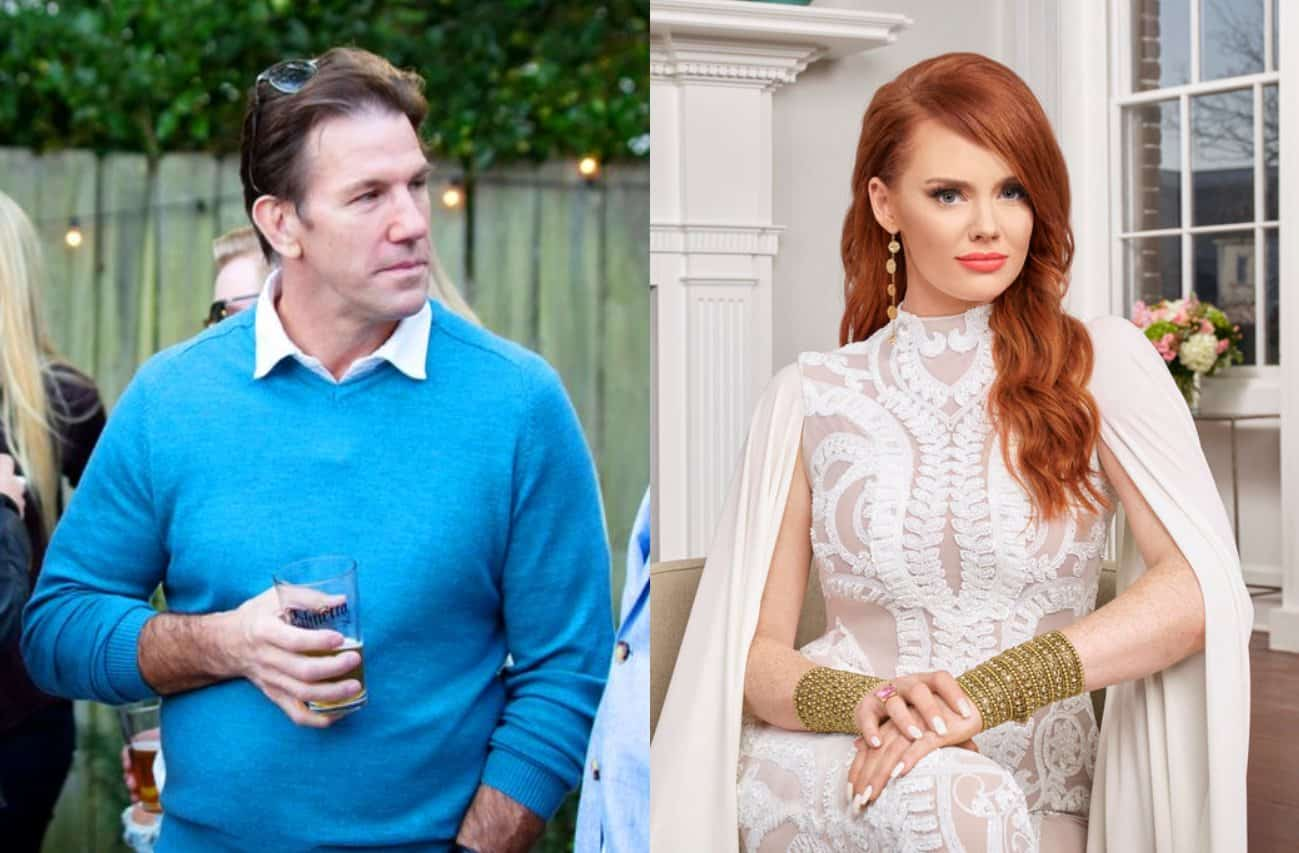 Southern Charm's Thomas Ravenel Accuses Kathryn Dennis of Failing a Recent Drug Test, Requests Sole Custody of Kids