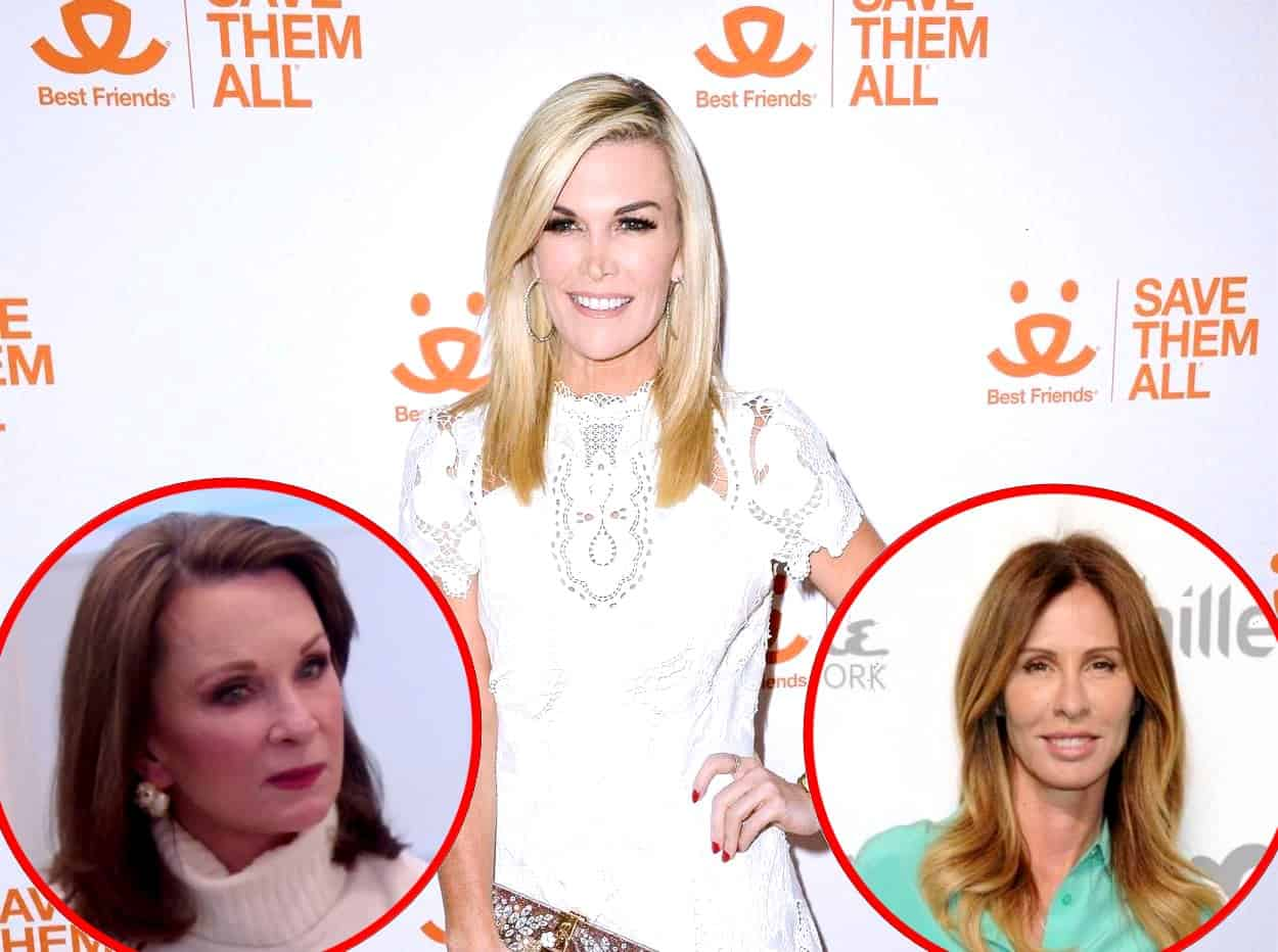RHONY's Tinsley Mortimer Addresses Mom Dale's 'Backhanded Comments,' Plus She Gives Update On Carole Radziwill Friendship