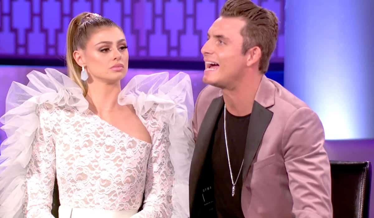 Vanderpump Rules Reunion Recap James and Raquel Leviss Dress