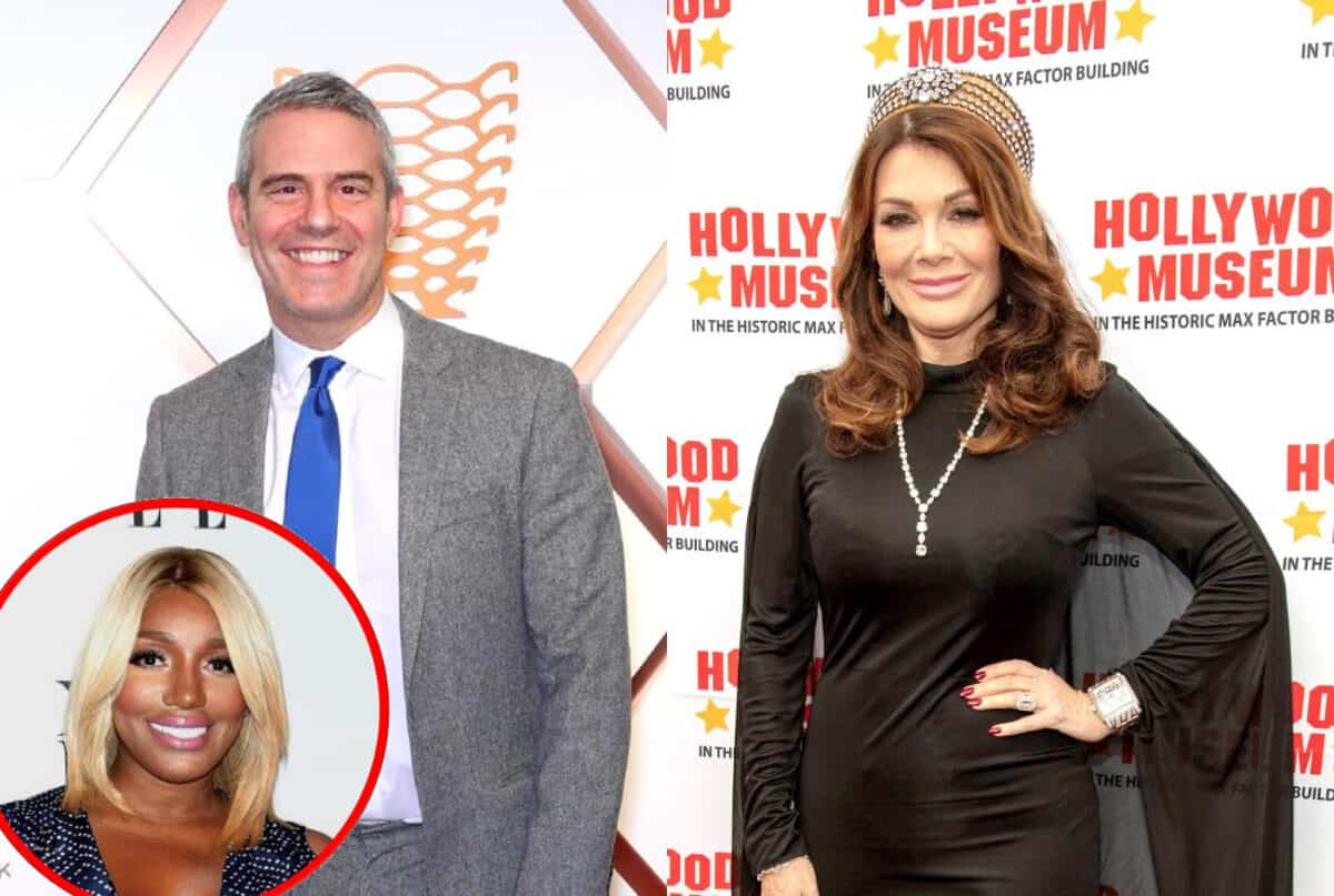Andy Cohen Says Lisa Vanderpump Forfeited Her Chance to 'Say Her Peace' by Skipping RHOBH Reunion, Plus He Talks NeNe Leakes' Future on RHOA