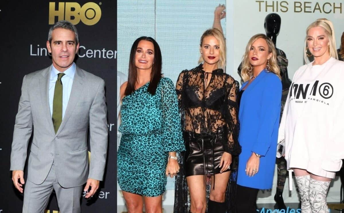Will Andy Cohen Mention RHOBH Lawsuits at Upcoming Reunion? Plus Erika Jayne Reveals Costars' Biggest Diva Moments