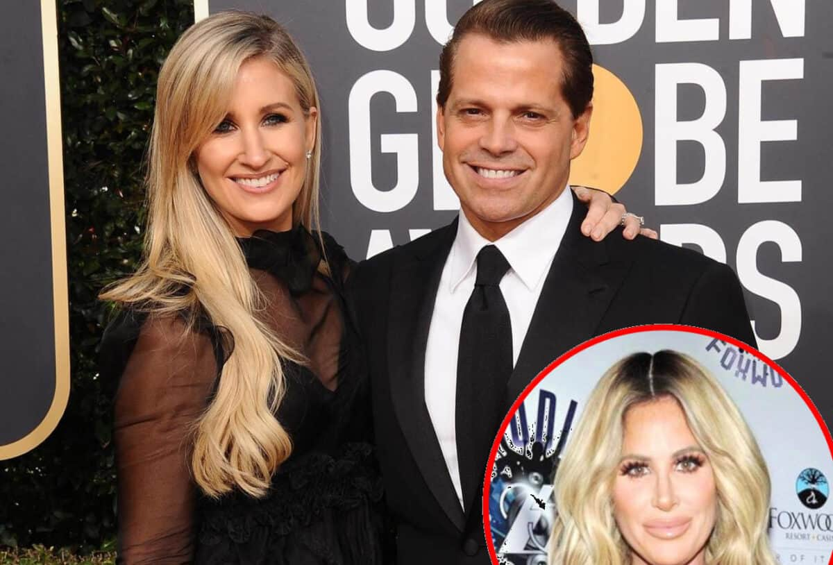 Anthony Scaramucci and Wife Deidre Discuss Joining RHONY as Deidre Admits to Being a Kim Zolciak Look-Alike, Why Does He Think She'd Be Perfect for the Role?