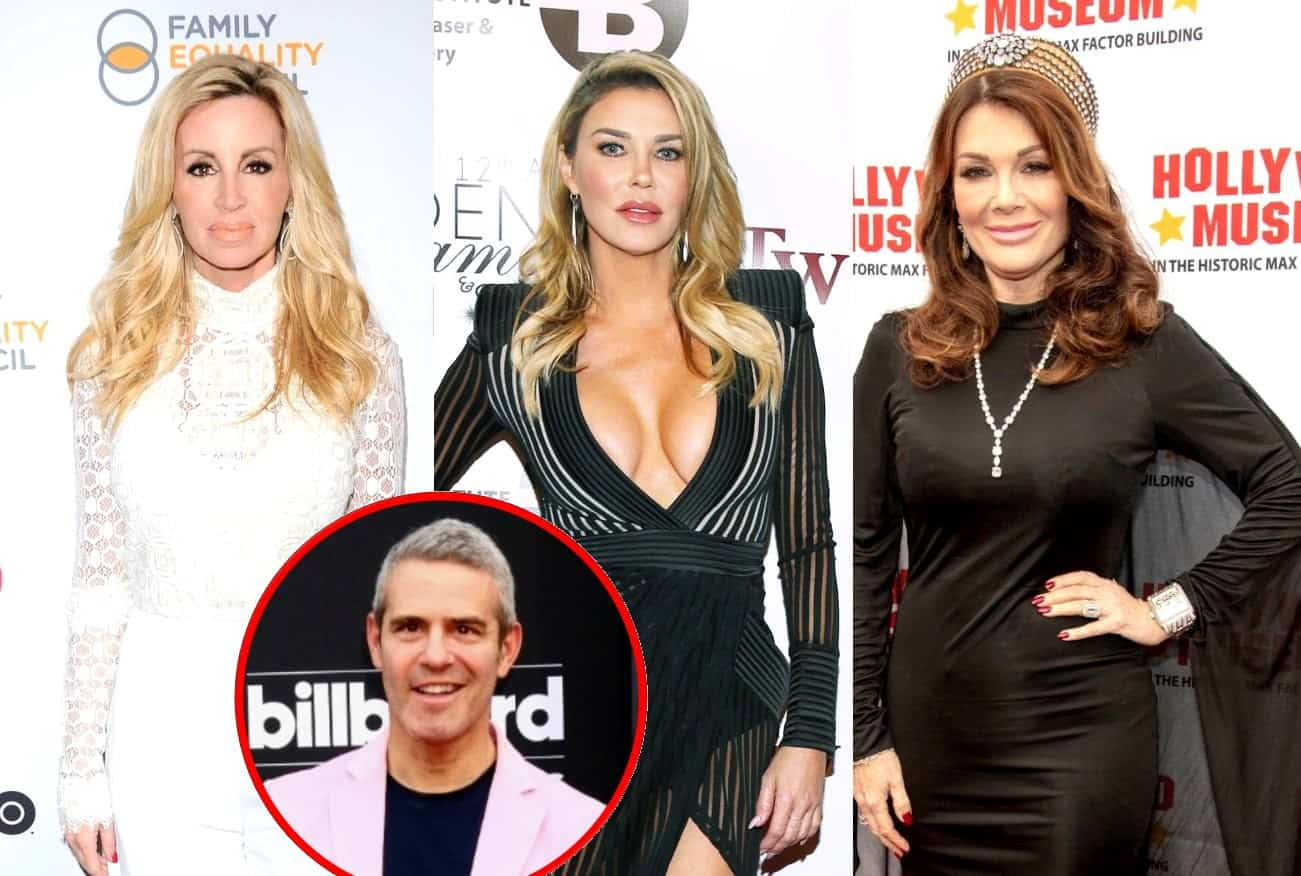 RHOBH's Camille Grammer and Brandi Glanville Offer Condolences to Lisa Vanderpump After Mother's Death, Plus Andy Cohen on Why He Didn't Mention it on WWHL