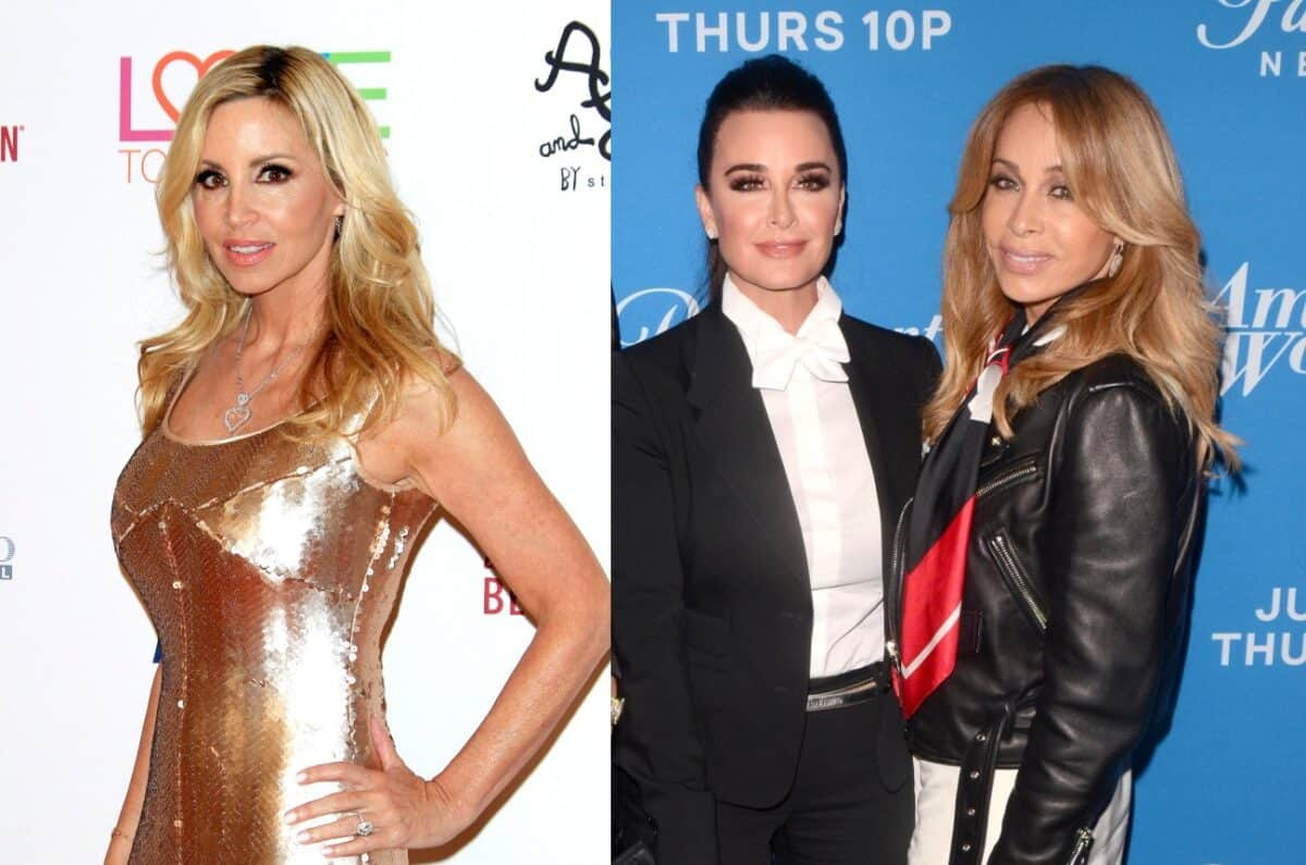 Camille Grammer Reacts to Bravo's Decision to Not Air Kyle Richards and Faye Resnick's Scene on RHOBH, She Also Responds to Backlash