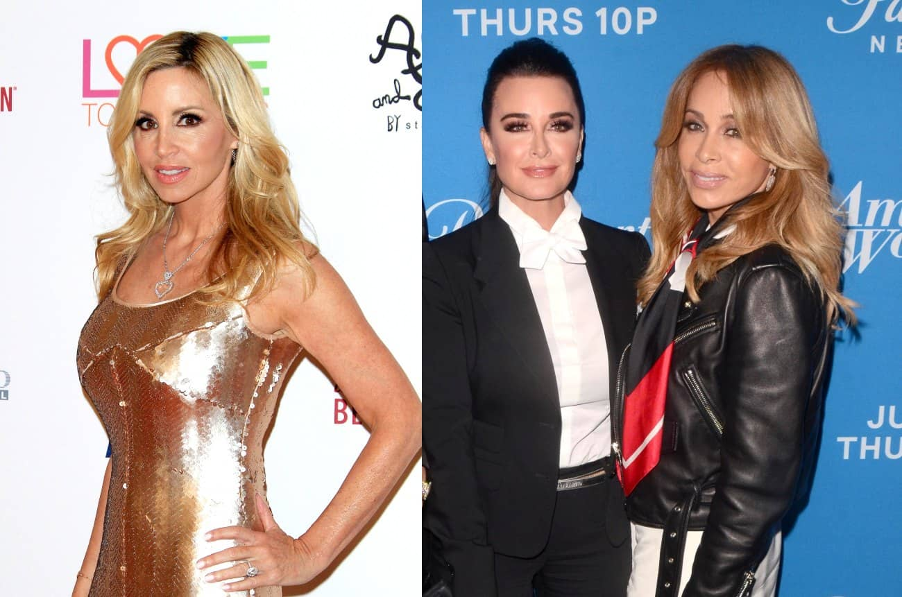 "RHOBH Star Camille Grammer Slams Faye Resnick as ""Morally Corrupt"" Again Over Comments About Her Home Burning Down"